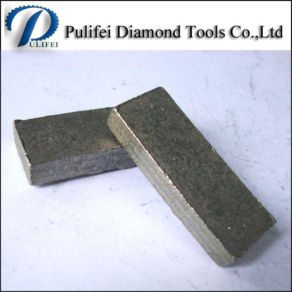Diamond Stone Cutting Segment for Granite Saw Blade