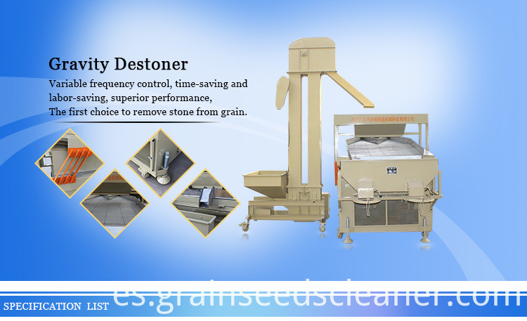 3T Sesame seed destoner processing machinery