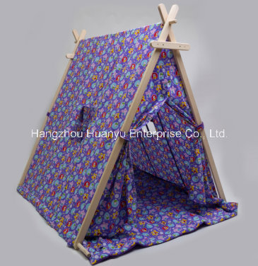 High Quality Printed Tent with Triangle Shape
