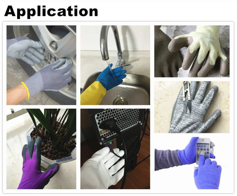 Double Nitrile Coated, Sandy Finish, Cut Resistant Glove