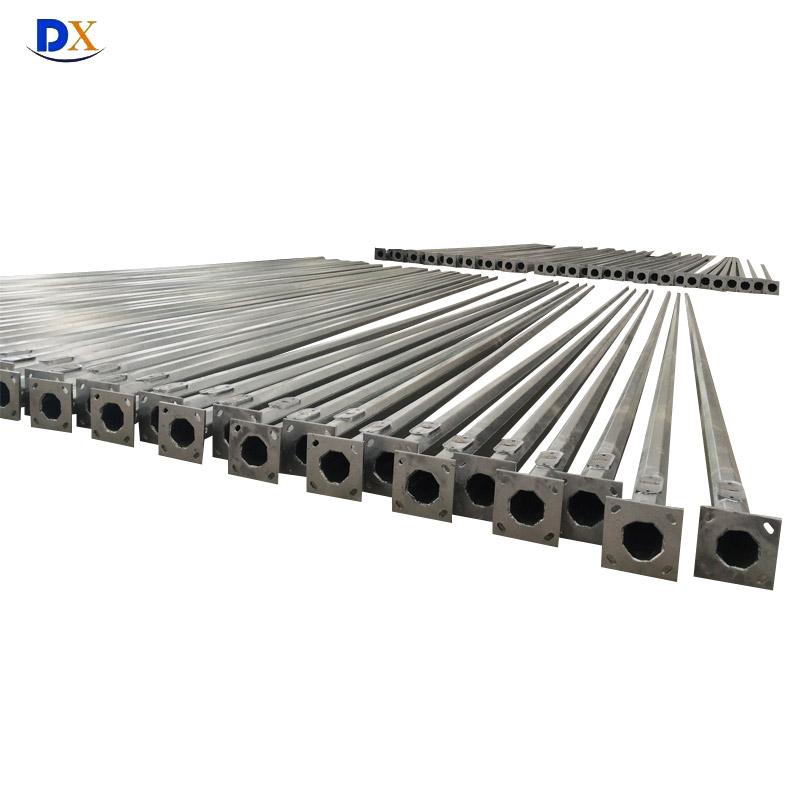 We Provide All Type of Q235 Galvanized Steel Lighting Poles for Sol18m, 20m, 25m, 35m Street Lighting 30m High Mast Lighting Pole for High Mast Lighting Price