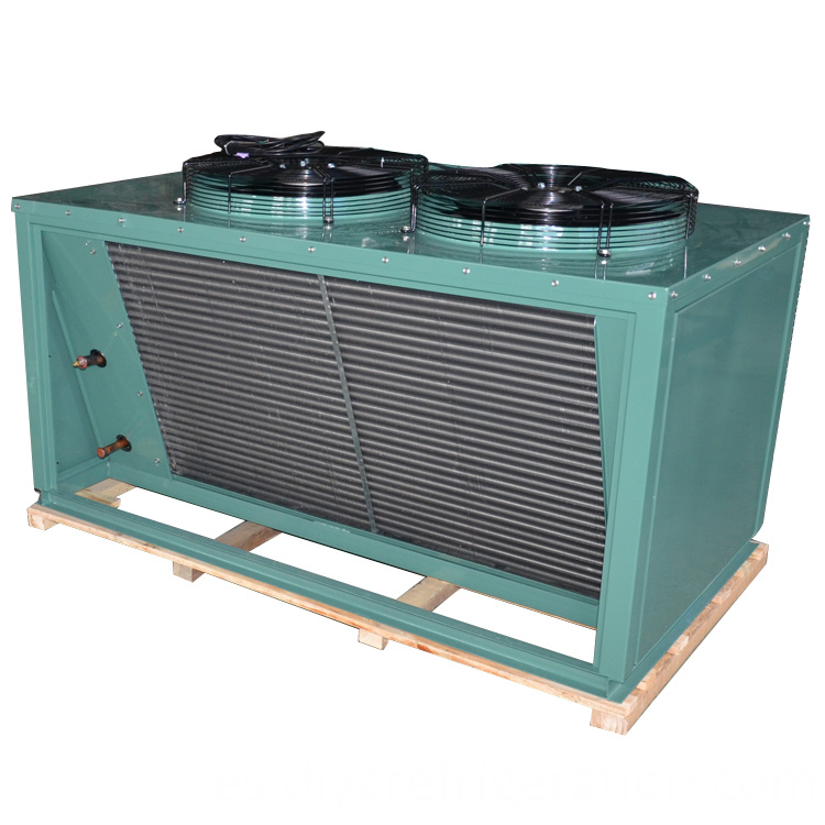 Two Motors Air Cooled Condenser