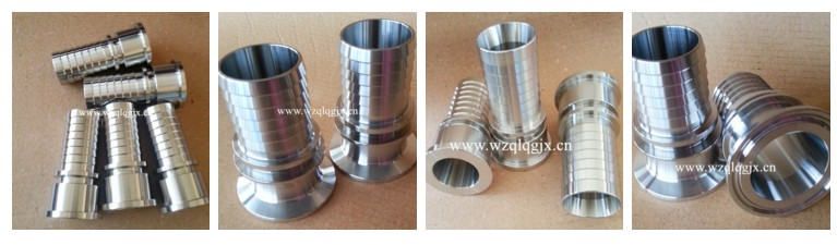 Sanitary Stainless Steel Pipe Fitting Hose Clamp Coupling