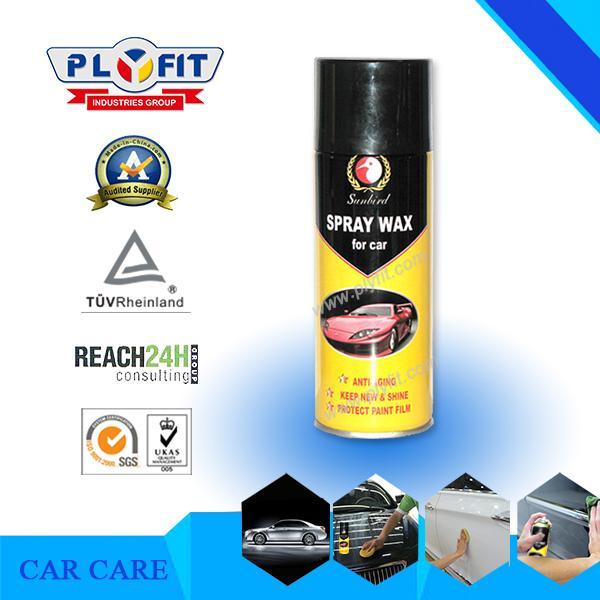 Car Care Hand Held Aerosol Spray Wax