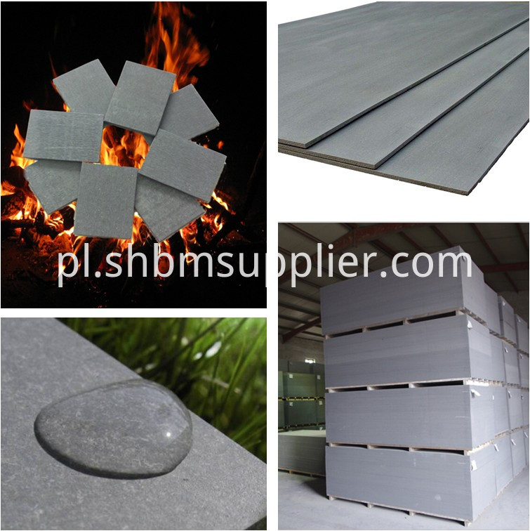 High Quality Fiber Cement Board With Sanded Surface