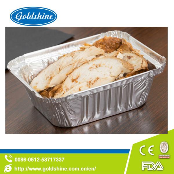SGS Healthy Food Grade Disposable Aluminum Tray