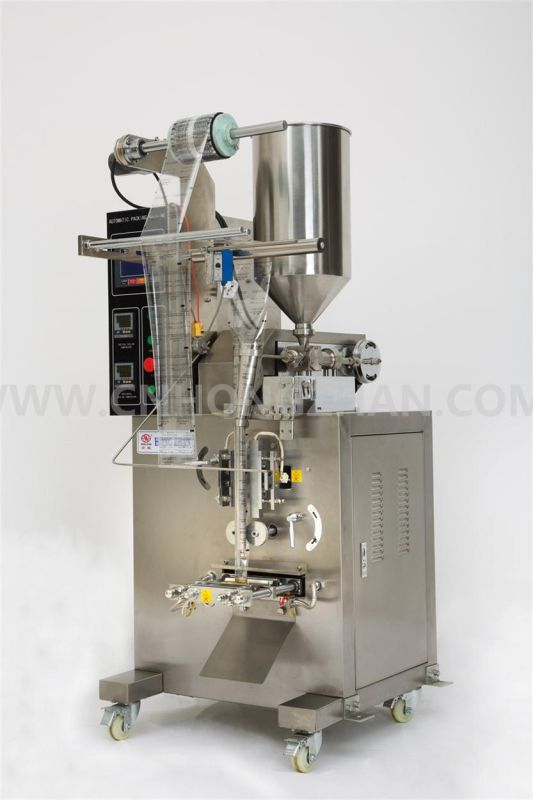 Hongzhan HP50L Automatic Liquid or Paste Packing Machine for Sauce