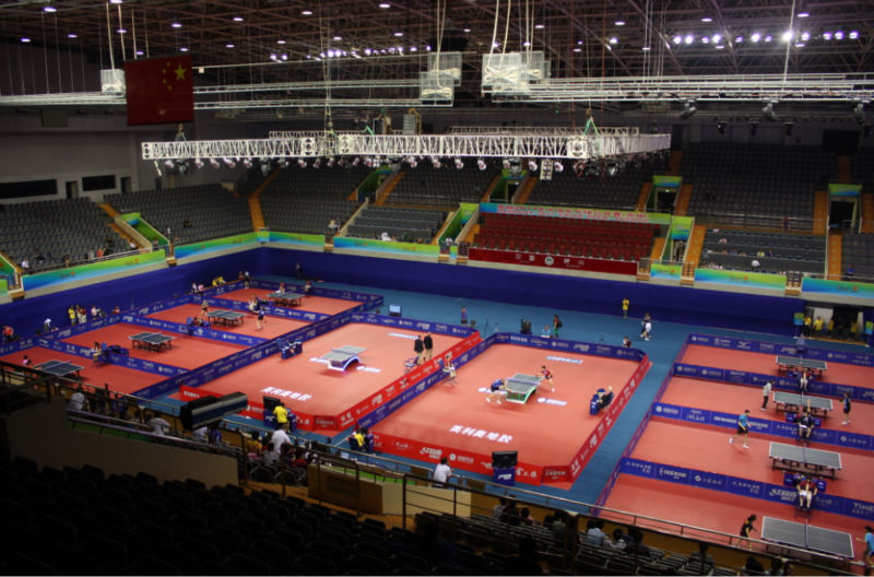 ITTF Table Tennis Flooring