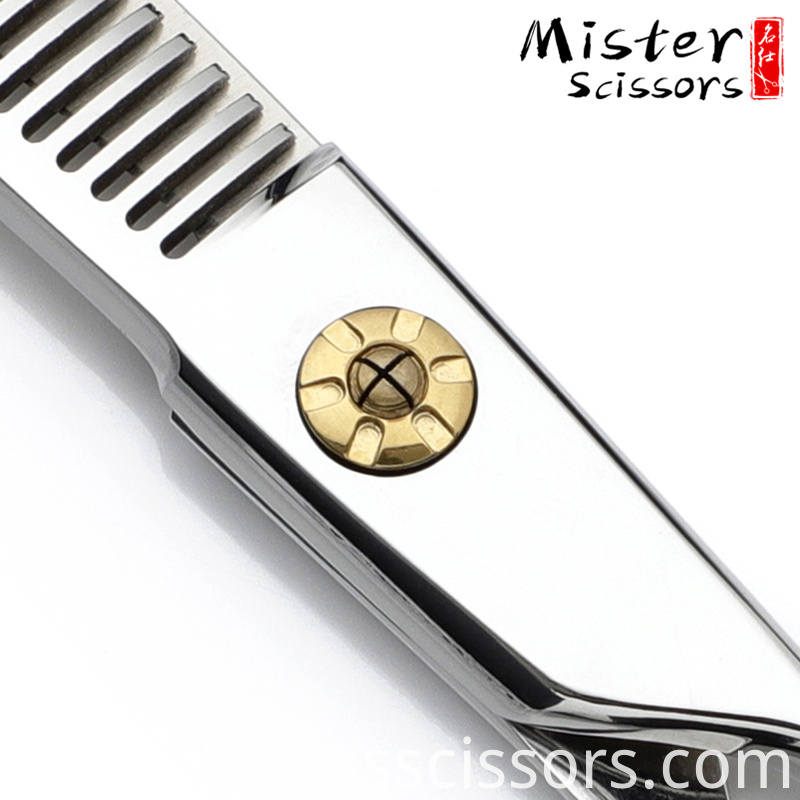 V-tooth hair thinning scissors
