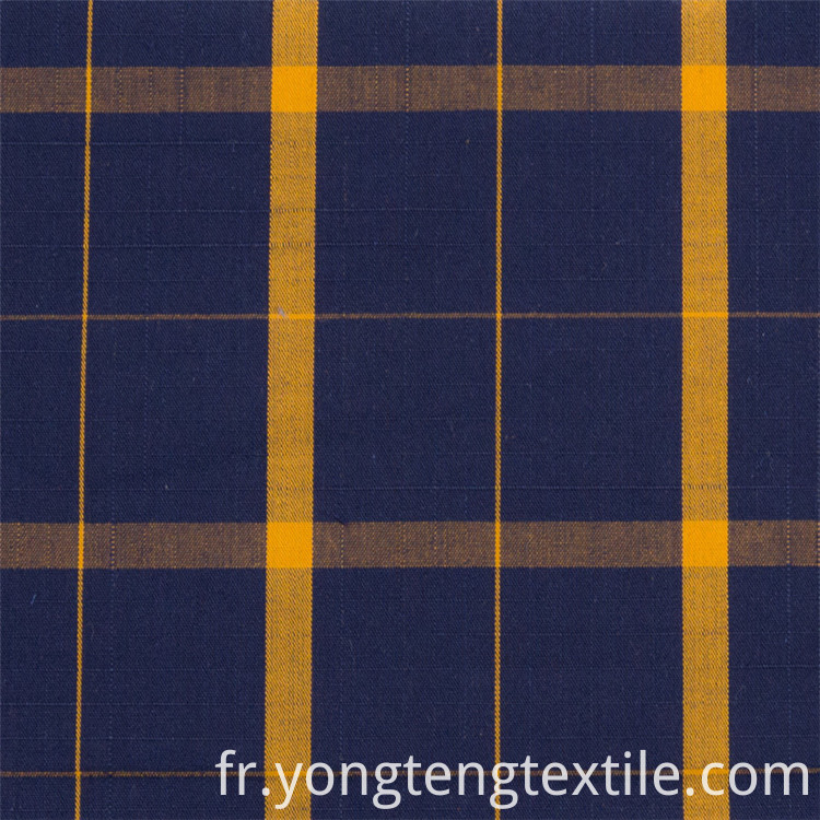 Colorful Yarn Dyed Plaid Fabric
