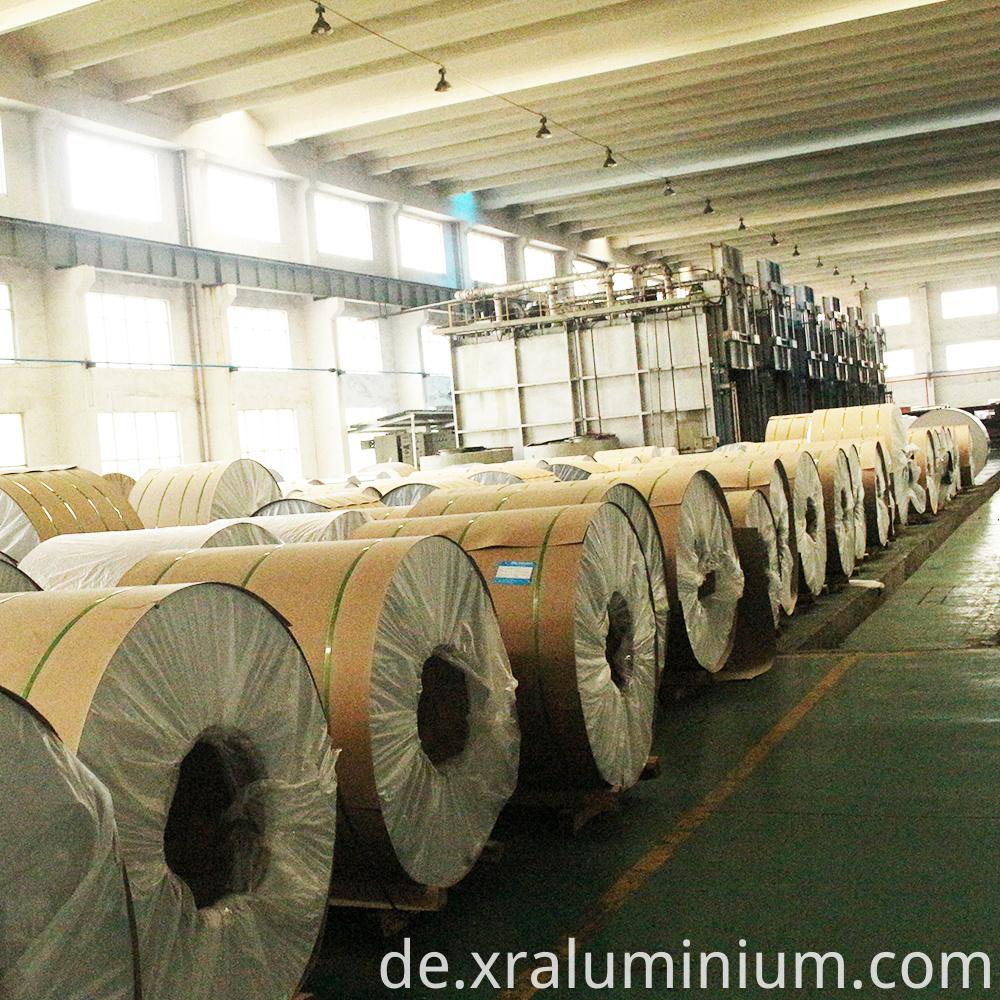 High quality coated aluminum coil