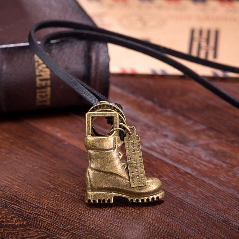 Shoe Pendant Women Fashion Necklace