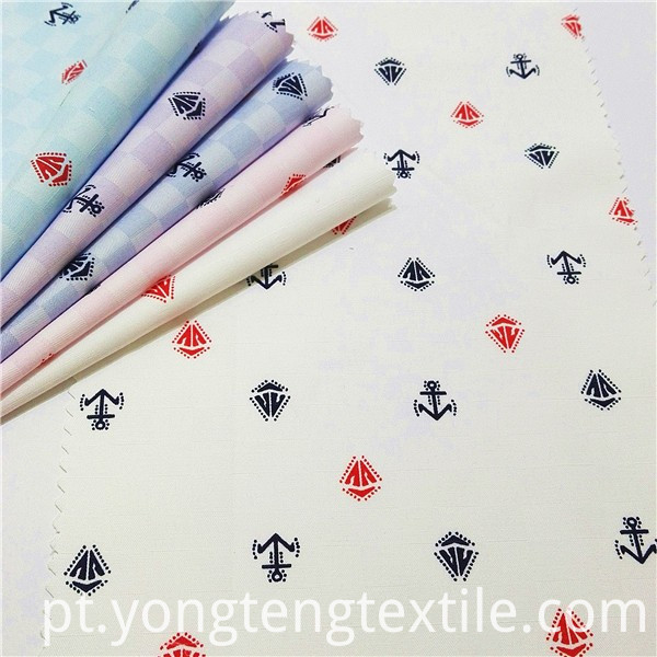 Shirt Fabric With Printing Onside