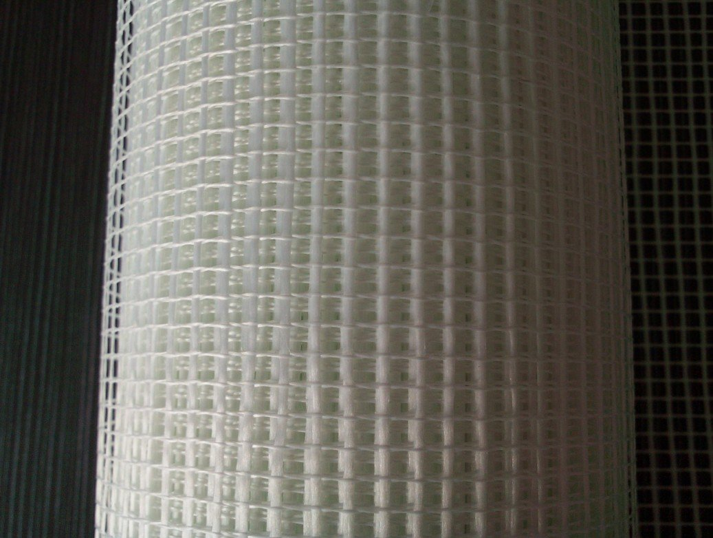 white fiberglass cloth