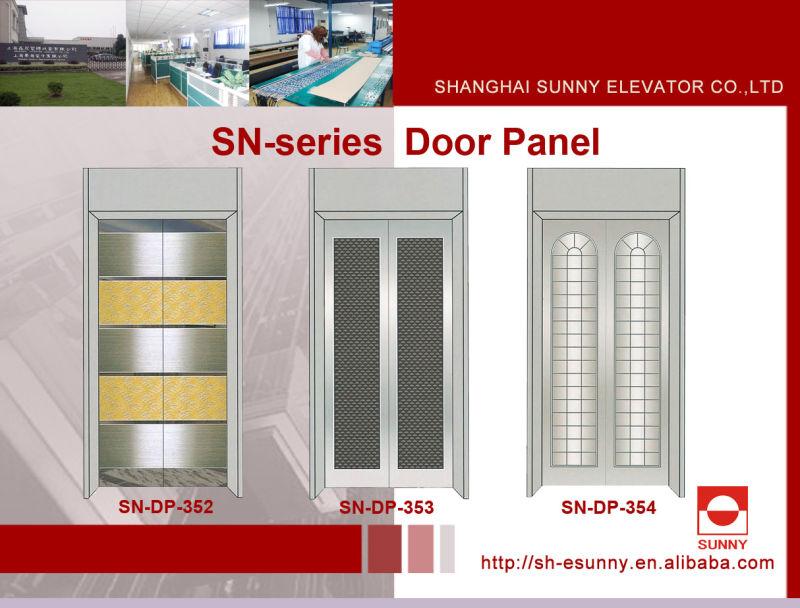 Elevator Door Panel with Mirror Surface (SN-DP-310)