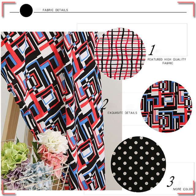 Vibrant Color Polyester Crepe Fabric