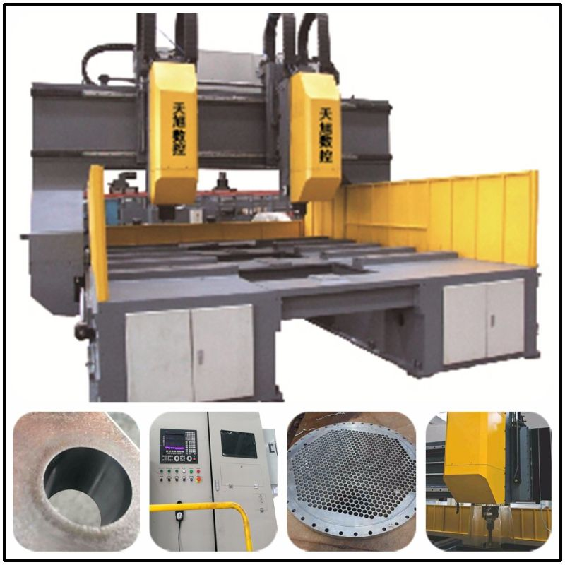High Speed CNC Drilling Machine with Tapping and Milling Function