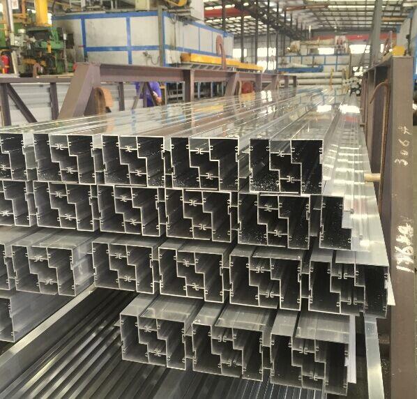Aluminium Solar Panel Extrusion Framework