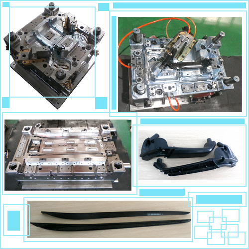Auto Gas Assisted Injection Mould/Plastic Mould