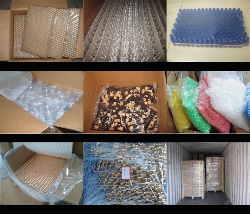 110ml 140ml 180ml Clear Plastic Dry Powder Sprayer Food Grade Talcum Powder Bottle (NB1112)