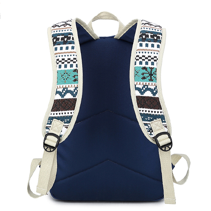 High Quality Canvas Material Backpacks for School Campus School Bags, Canvas Bag