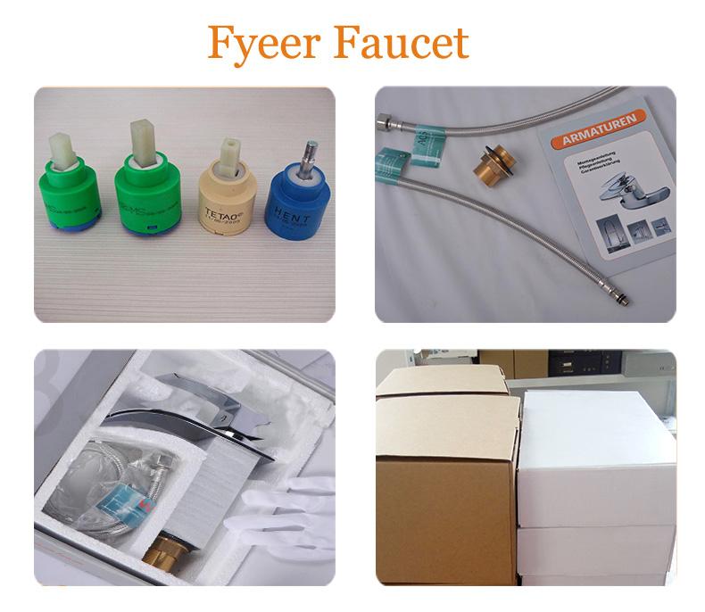 Fyeer Classic Single Handle Bibcock Bathroom Basin Faucet