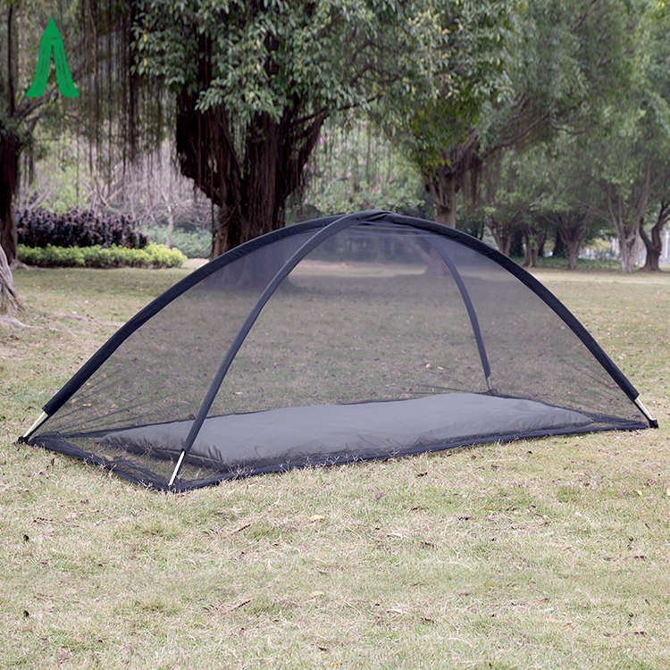 Portable mesh tent for outdoor hiking