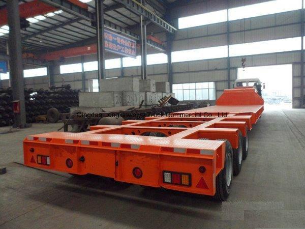 100-200ton Heavy Duty Modular Hydraulic Semi Trailer