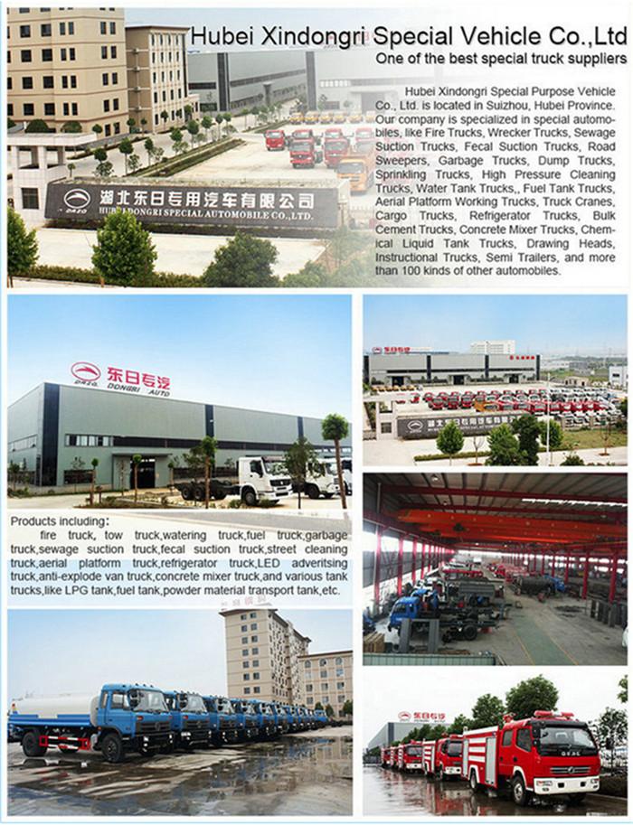 3ton Dongfeng Heavy Wrecker Euro3