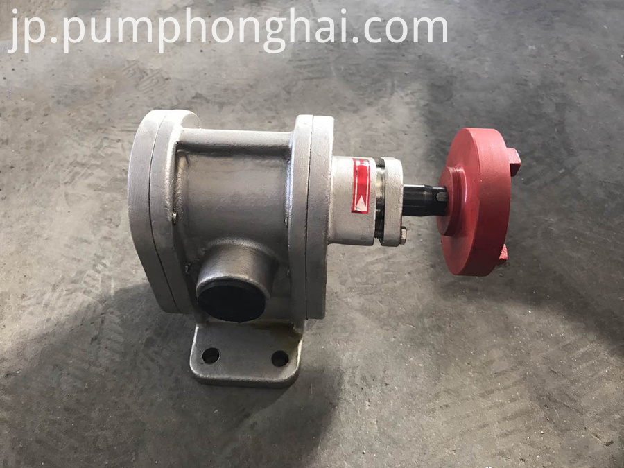 Cast Iron Lube Motor Pump
