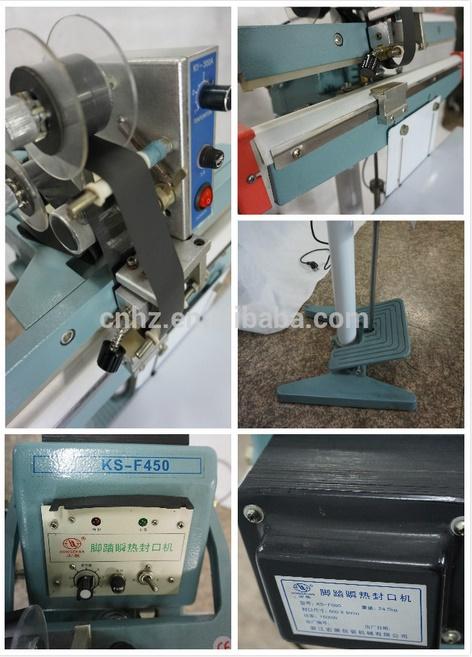 Passing Through Type Pedal Sealing Machine