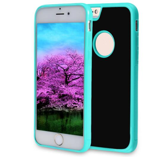 Anti-Gravity Selfie Case for iPhone7/ 6/6s 4.7-Inch with Magical Nano Sticky Can Stick to Glass, Mirrors, Whiteboards, Metal, Kitchen Cabinets or Tile, Car GPS,