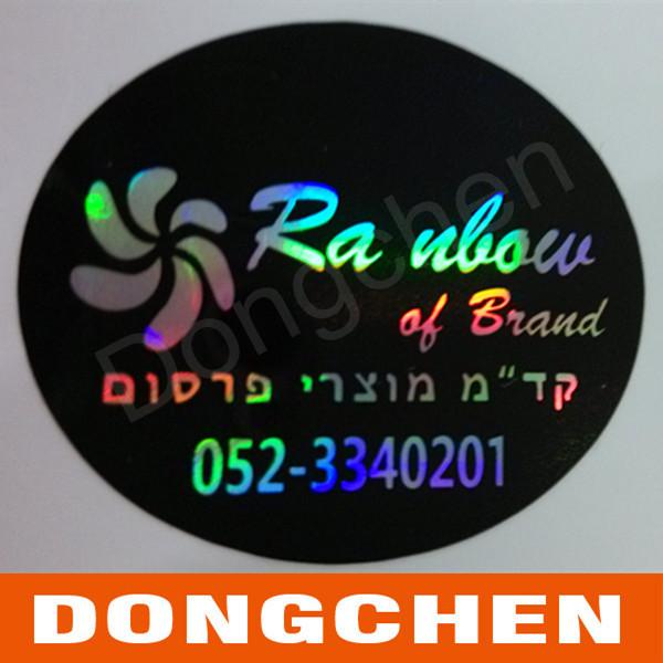 Custom Adhesive Reflective Printed UV Resistant Car Sticker
