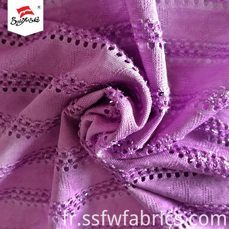 Good Wash Eyelet Jacquard Fabric