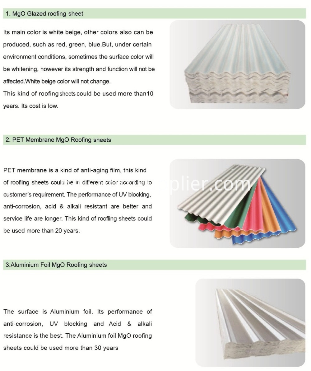 Non-asbestos Roofing Sheets