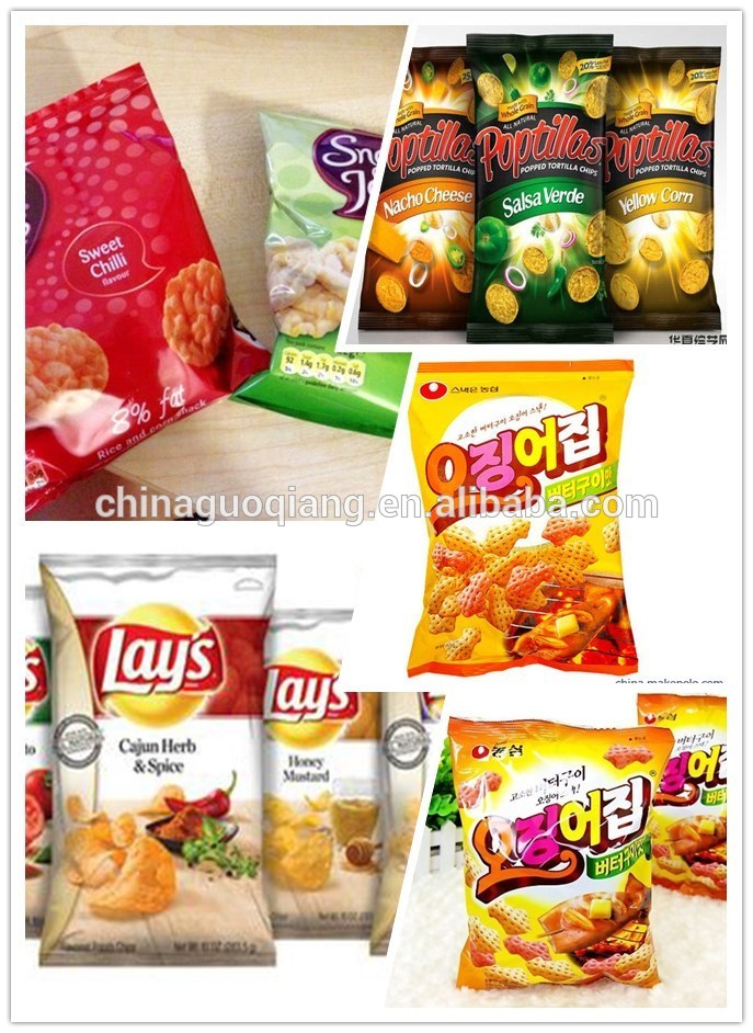 packaging machine chips