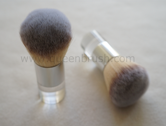 Three Tones Synthetic Hair Powder Brush