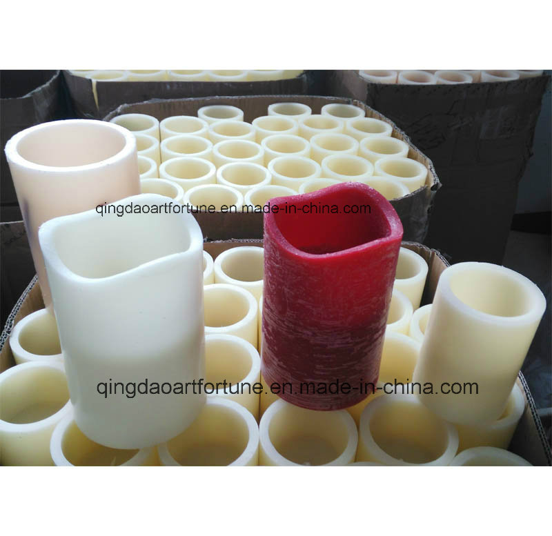 Flameless Real Wax LED Candle with Timer
