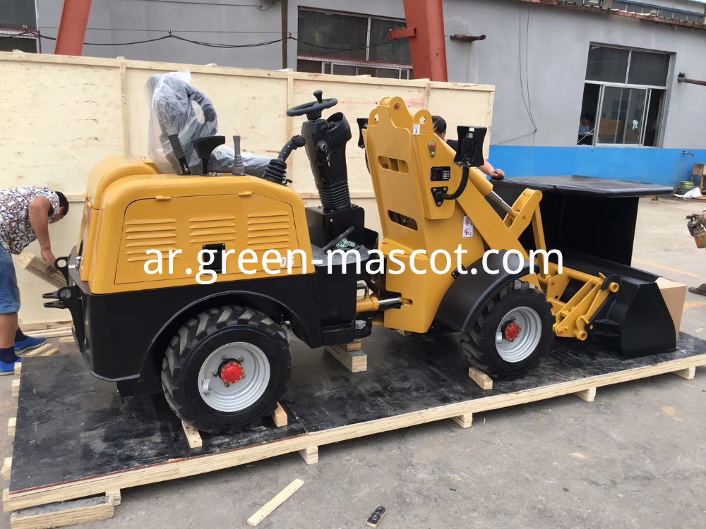 battery wheel loader