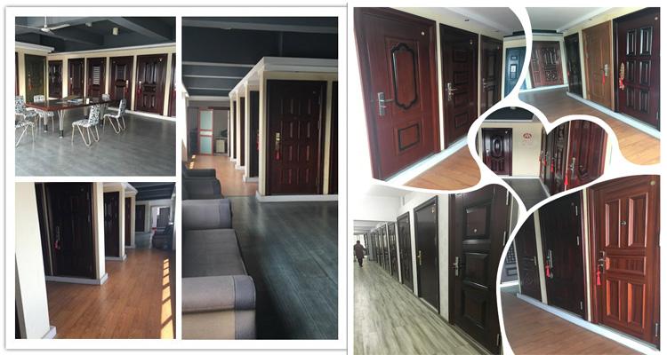 2017 Steel Swing Security Luxury Door for Apartment &Villa
