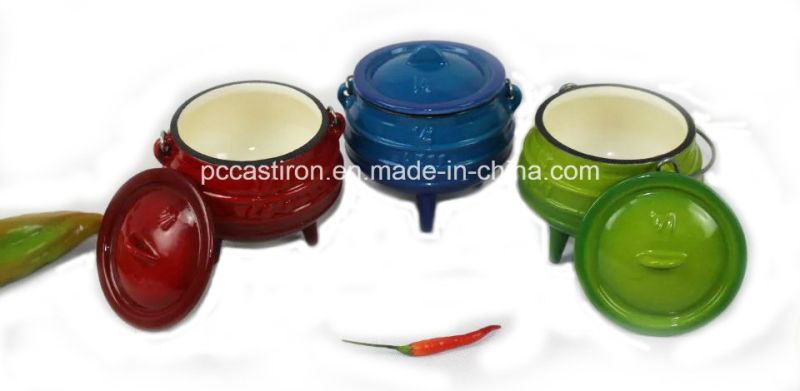 #3, #4, #6, #8 Three-Legged Cast Iron Potjie Pots for South African