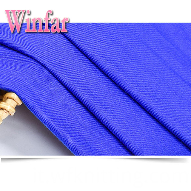 Soft Plain Viscose Knit For Dress