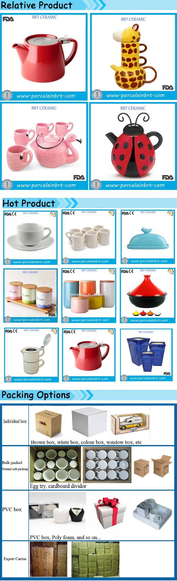 Home Appliance Bee Shaped Cheap Ceramic Teapot