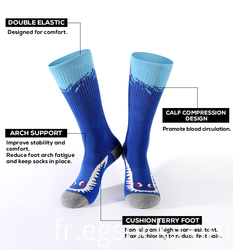 novelty compression socks