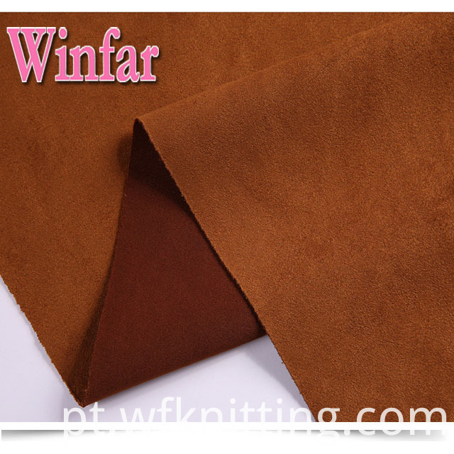 Polyester Suede Spandex Fabric