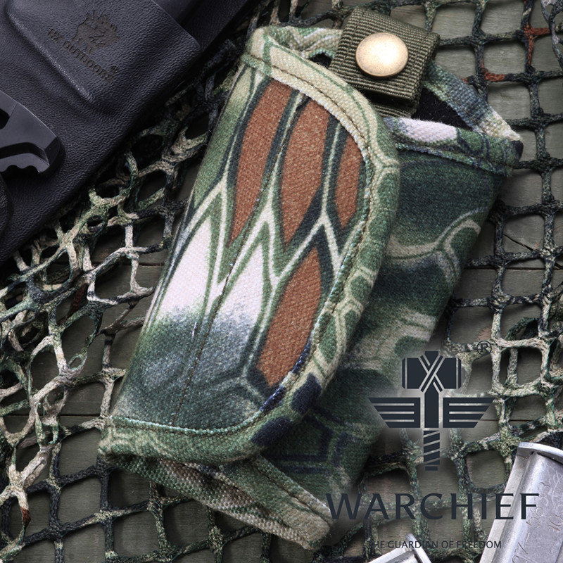 Outdoor Sports Hunting Combat Chief Mute Lock Key Pouch Tactical Key Bag