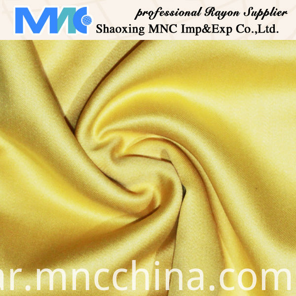shinning rayon satin fabric