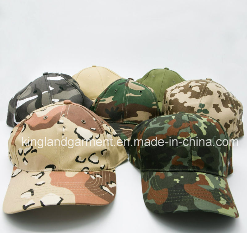 Cotton Drill Army /Military Khaki Beige Plain Baseball Cap