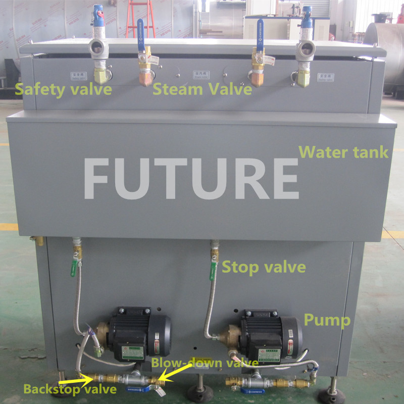 Automatic Electric Steam Boiler for Dining Hall