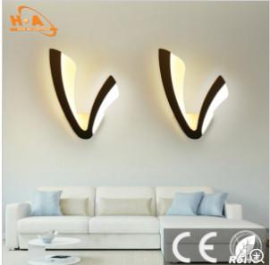 Long Life of Modern Popular V Shaped Wall Lamp I N Room